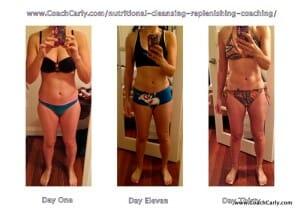 Day 1 ~ Day 11 ~ Day 30 ~ www.CoachCarly.com