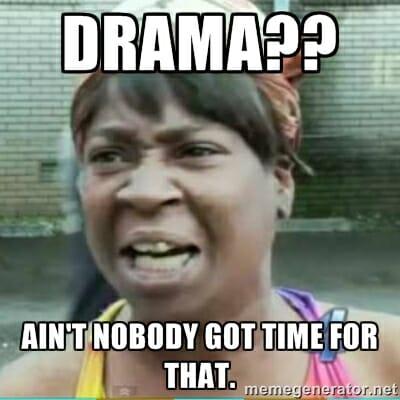 Drama??