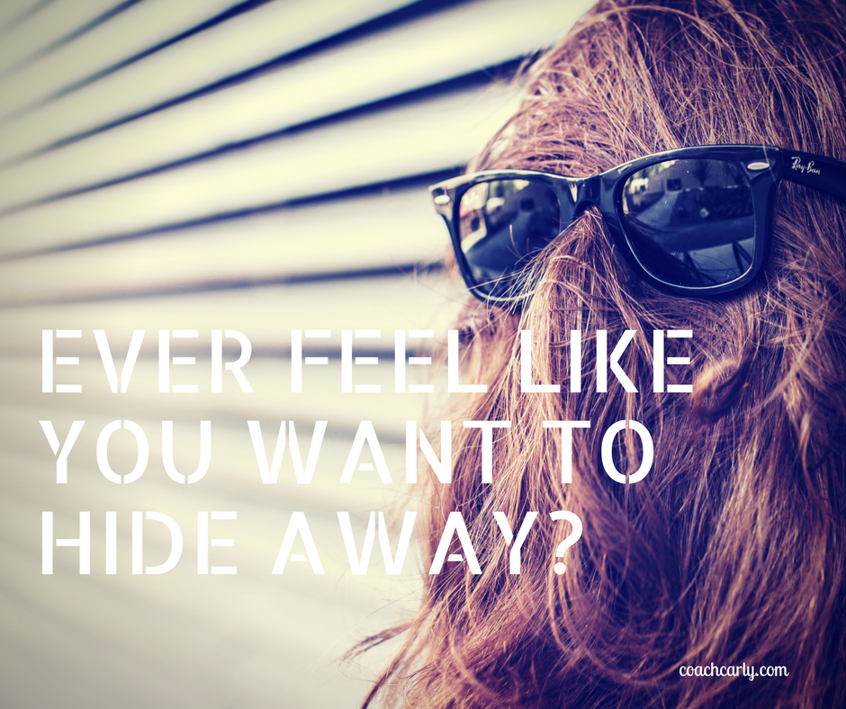 Humor Inspirational Quotes: Ever Feel Like You Just Want To Hide Away?